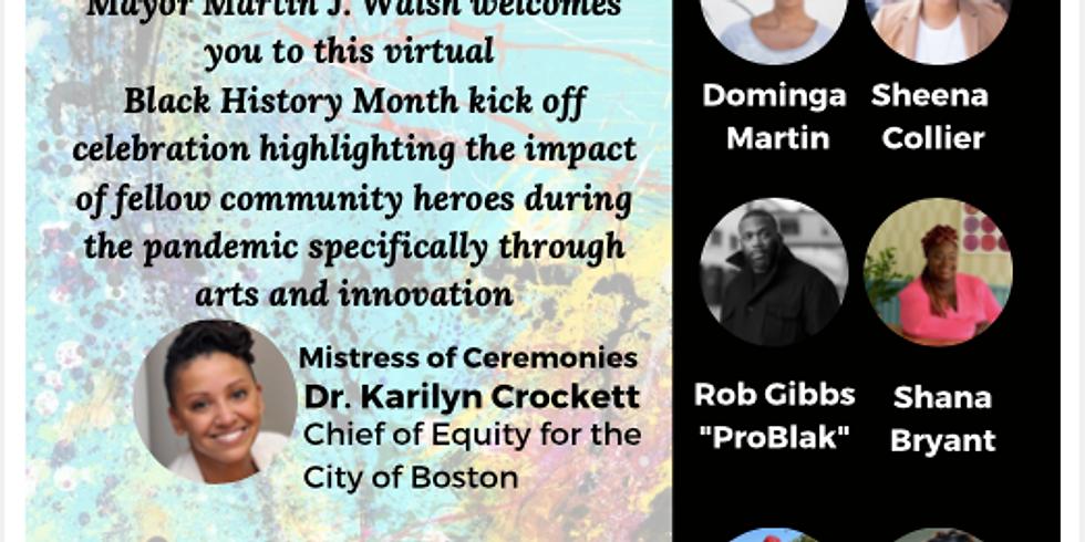 Black History Month Kick Off Celebration: Representation, Identity & Diversity