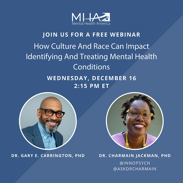 How Culture and Race Can Impact Identifying and Treating Mental Health Conditions