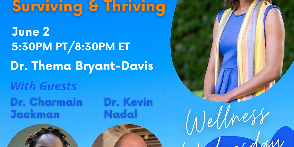 Wellness Wednesday with Drs. Thema, Jackman and Nadal