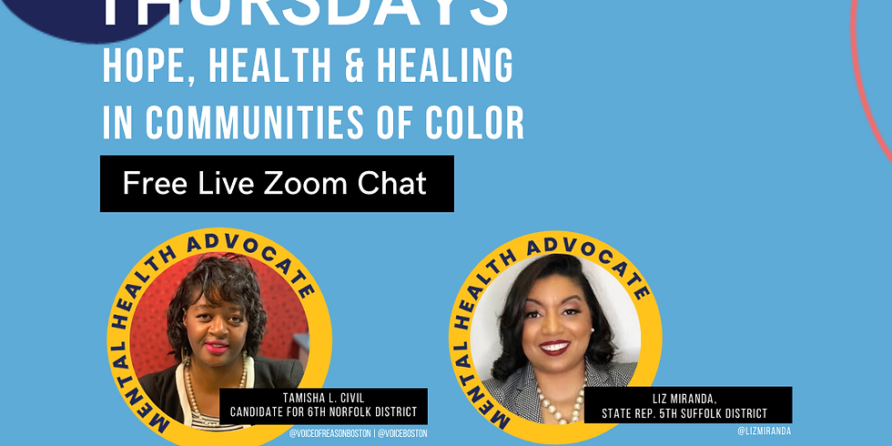 Thriving Thursdays: Hope, Health & Healing in Communities of Color