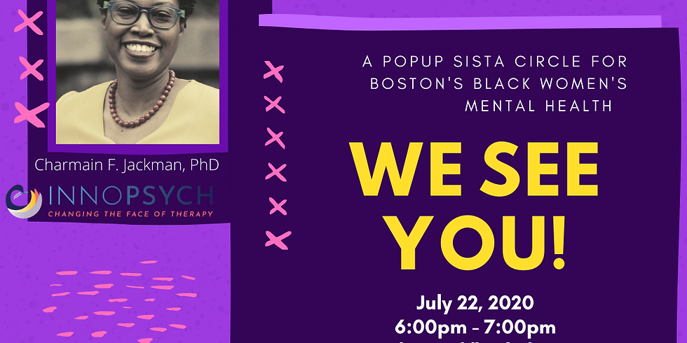 Popup Sista Circle for Boston's Black Women's Mental Health