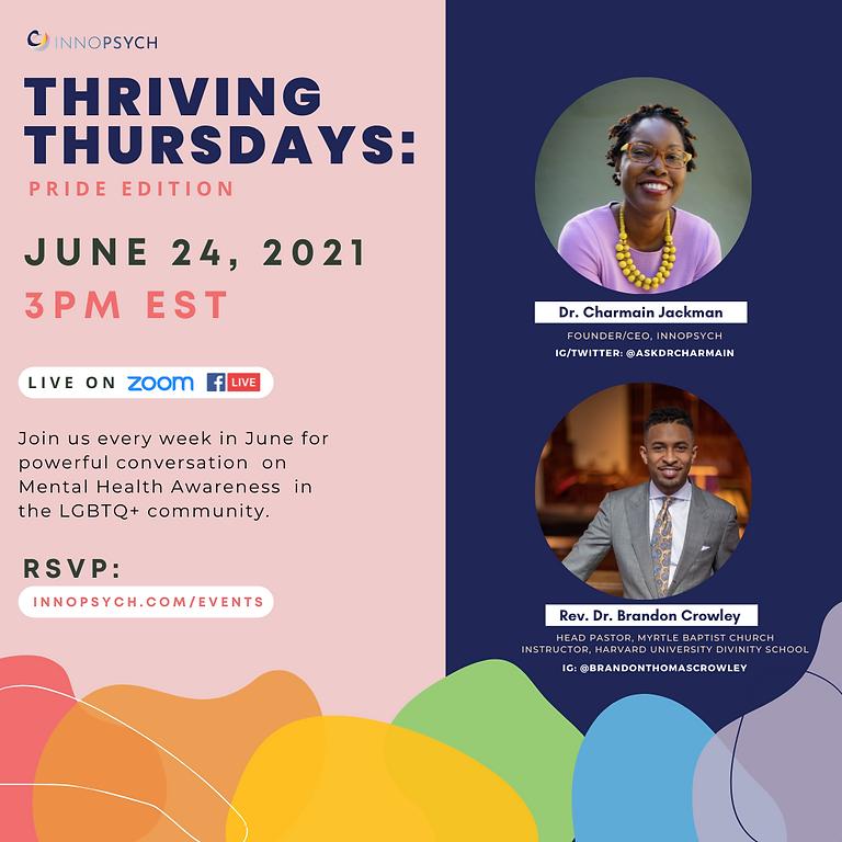 Thriving Thursdays: Mental Health Advocacy
