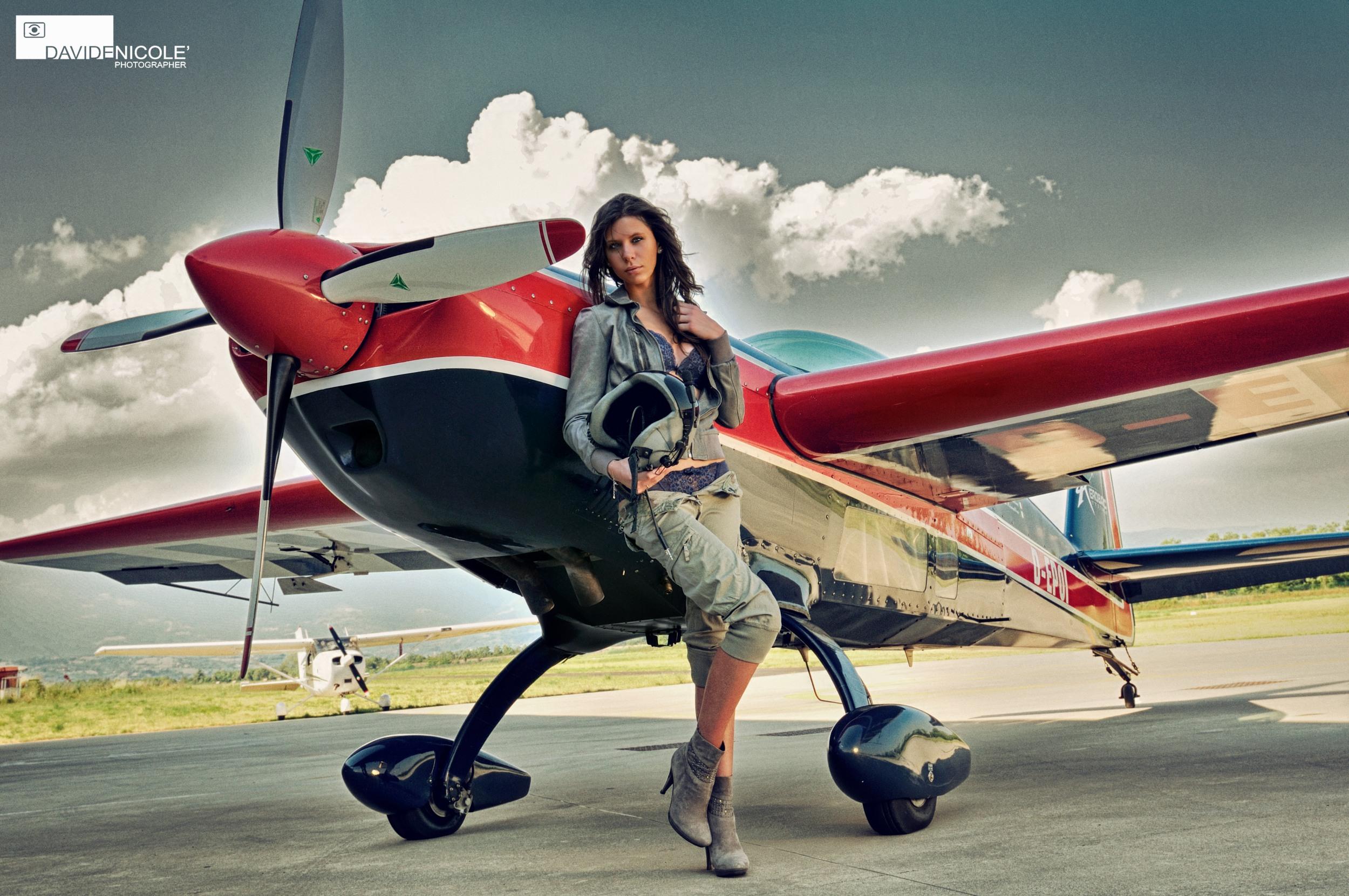 Airplane Sexy Girls Free Pics - Babes - Video Xxx-6586