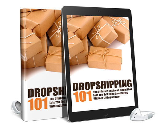 Dropshipping 101 Audio and Ebook
