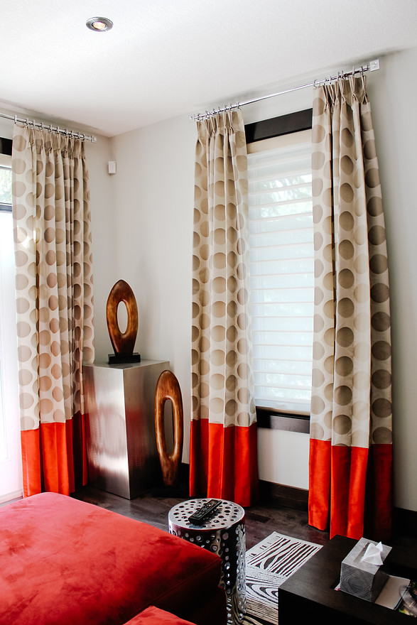 Draperies, Room Service Interiors, A Boutique Design Studio