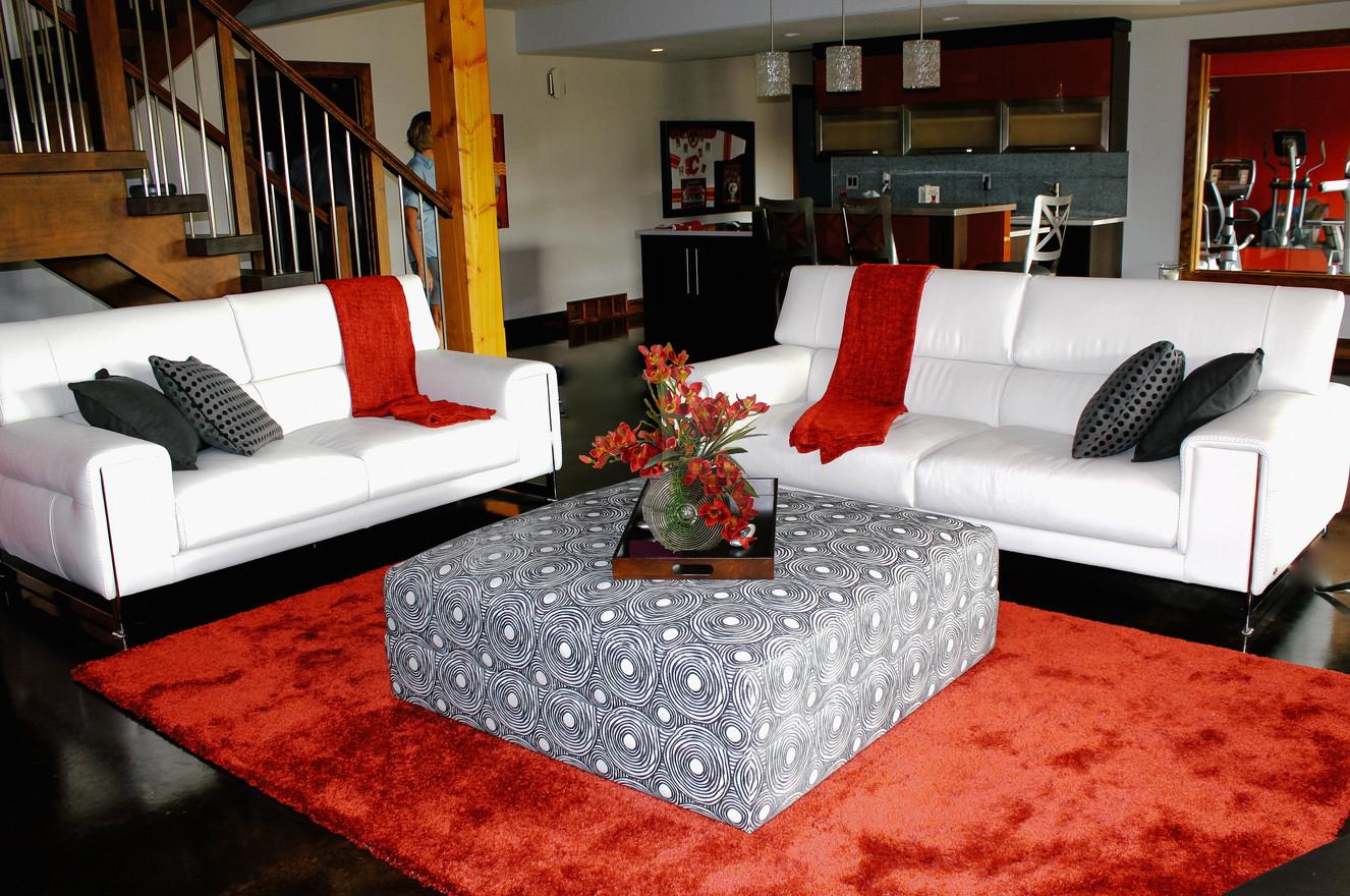 Rockyview Basement, Room Service Interiors, A Boutique Design Studio