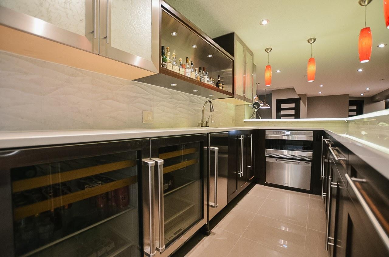 Bearspaw Ridge Basement Bar, Room Service Interiors, A Boutique Design Studio