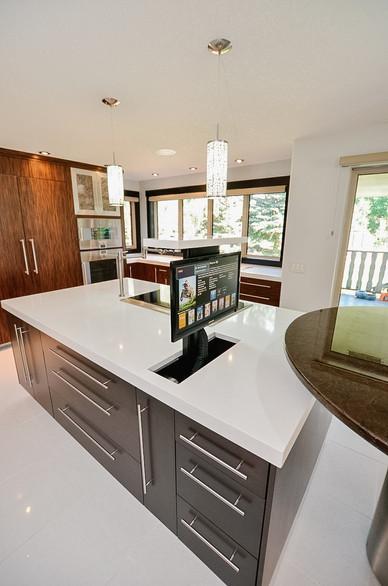Clean and Sleek Kitchen Design, Room Service Interiors, A Boutique Design Studio