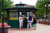 Kiosk, Location