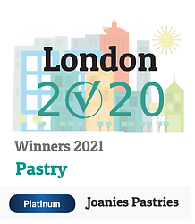 Joanie's Pastries wins platinum London Community Votes