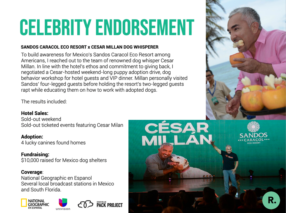 Celebrity Partnership