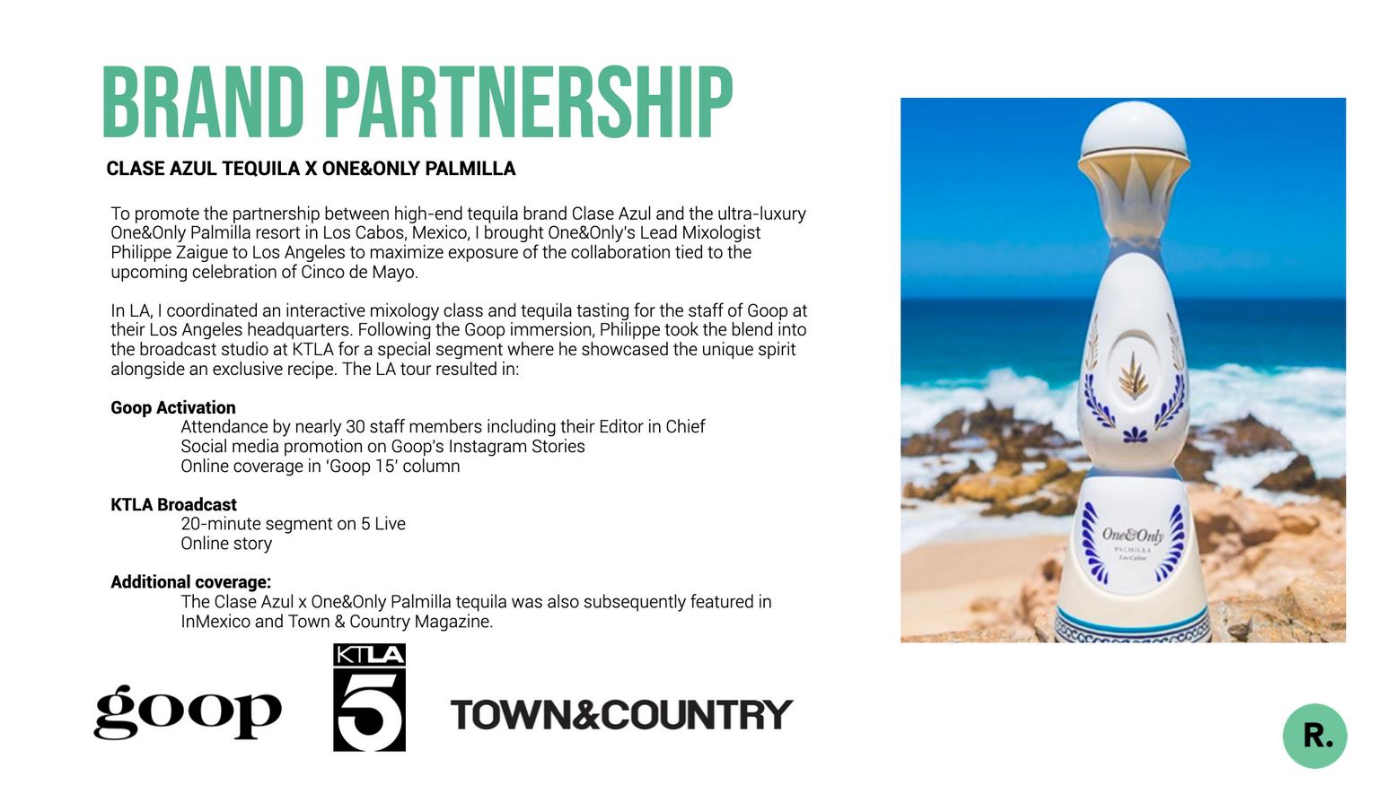 Brand Partnership Launch