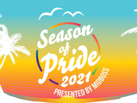 Third Annual Season of Pride Presented by MidBoss Spreads Rainbow Love in July