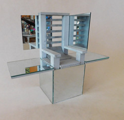Chair with Mirrors