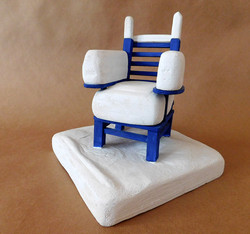 Chair with Snow