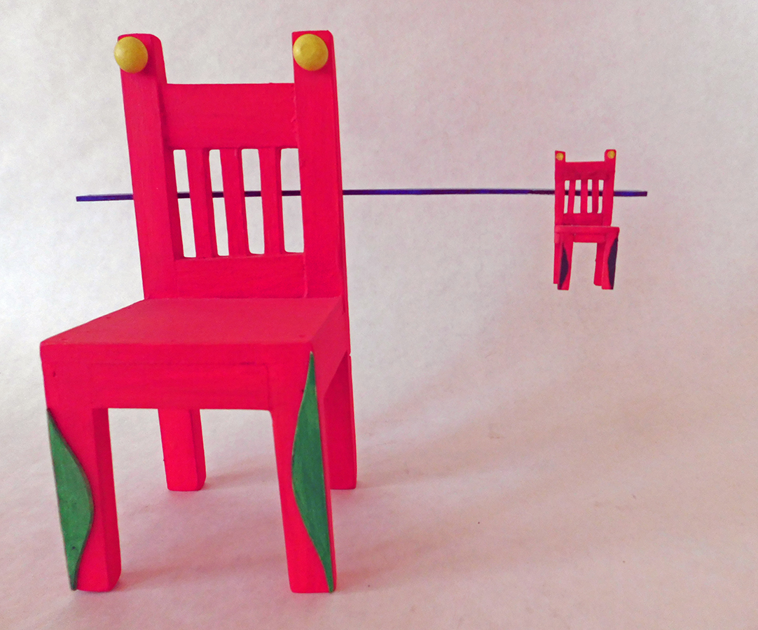 Chair Near and Far with Horizon Line