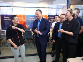 NSLComm meets Jack Ma, Alibaba Founder at JVP headquarters in Jerusalem