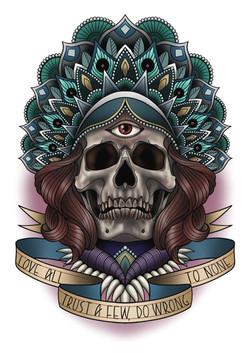 skull neo trad