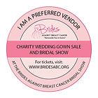 Brides agains cancer badgePreferred VEND