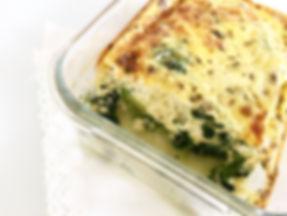 Flan coco courgette epinard chèvre sans lactose sans gluten vegetarien