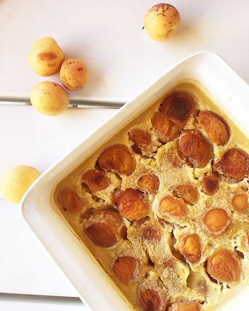 clafoutis sans lactose aux abricots sans sucre ajouté healthy léger