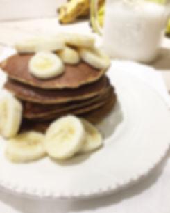 Pancakes vegan sans gluten sans lactose leger banane rapide simple
