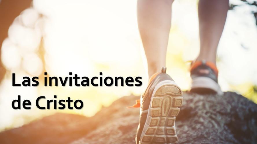 Las invitaciones de Cristo