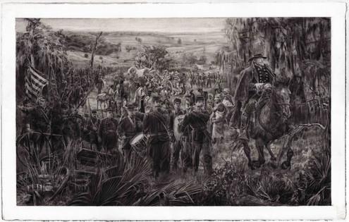 Sherman's Army Approaching Savannah