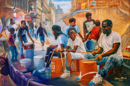 Drummers of New Orleans