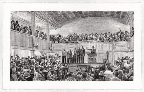 General Rufus Saxton's Speech at the Second African Baptist Church