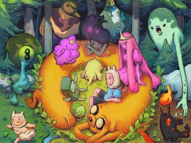 Adventure Time Variant Covers 1-6 | BOOM! & Cartoon Network