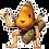 Thumbnail: Merms of May: Papaya Sticker