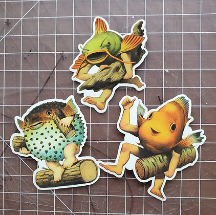 Merms of May Sticker Set
