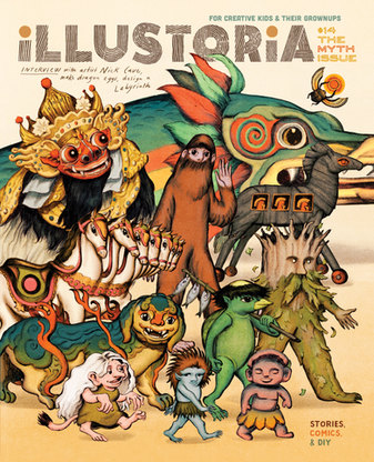 ILLUSTORIA Issue #14 MYTH Cover | McSweeney's Publishing