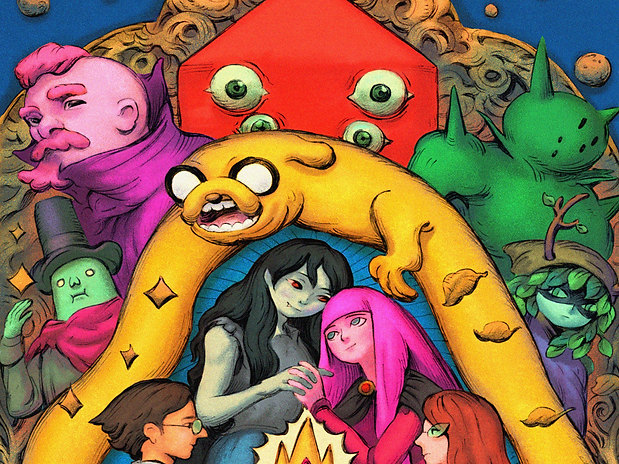 Adventure Time Variant Covers 7-12 | BOOM! & Cartoon Network