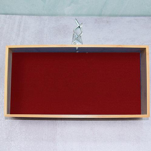 """Red Banta Box 6x12"""""""