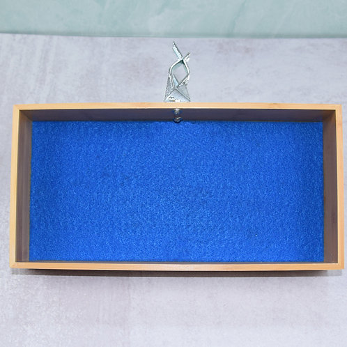 "Blue Banta Box 6x12"""