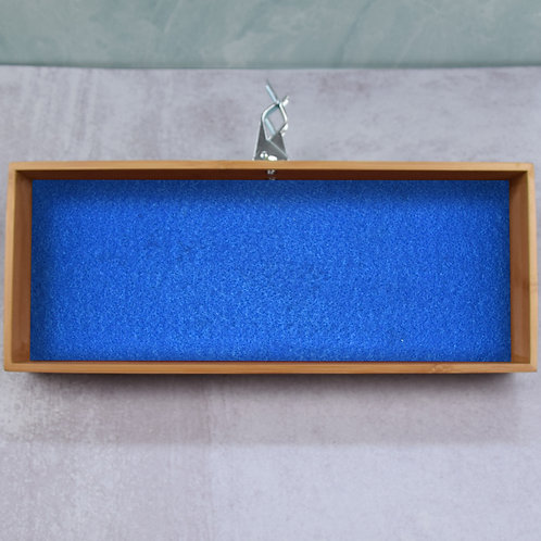 "Blue Banta Box 6x15"""