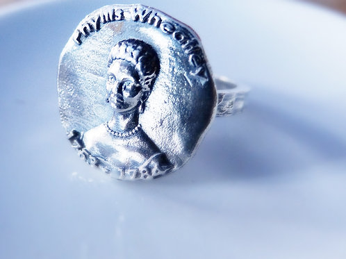 Phyllis Wheatley Silver Ring