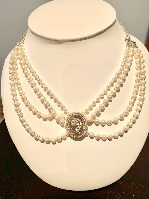 Madame CJ Walker Pearl Necklace
