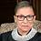 Thumbnail: SCOTUS Ruth Bader Ginsburg Sterling Silver Necklace