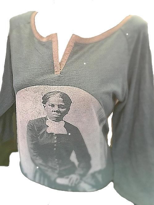 Harriet Tubman V-neck T