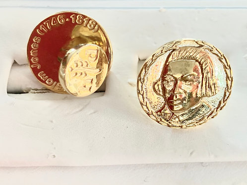 Absalom Jones 14k Gold Vermeil Cufflinks