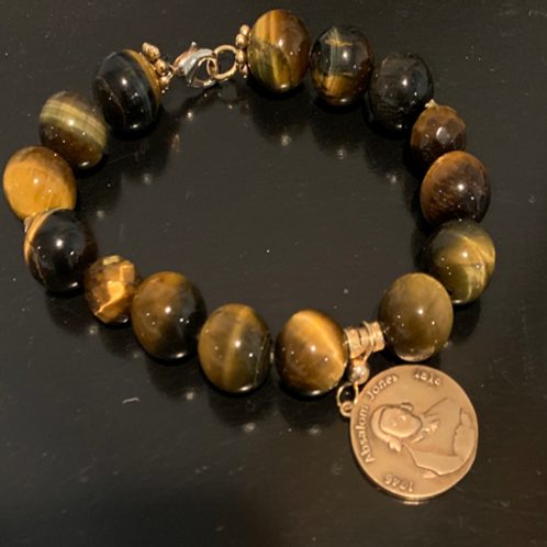 Absalom Jones Tiger Eye Bracelet