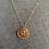Thumbnail: Absalom Jones Brass Pendant Necklace