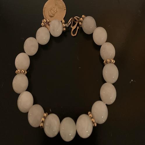 Phyllis Wheatley Selenite Bracelet