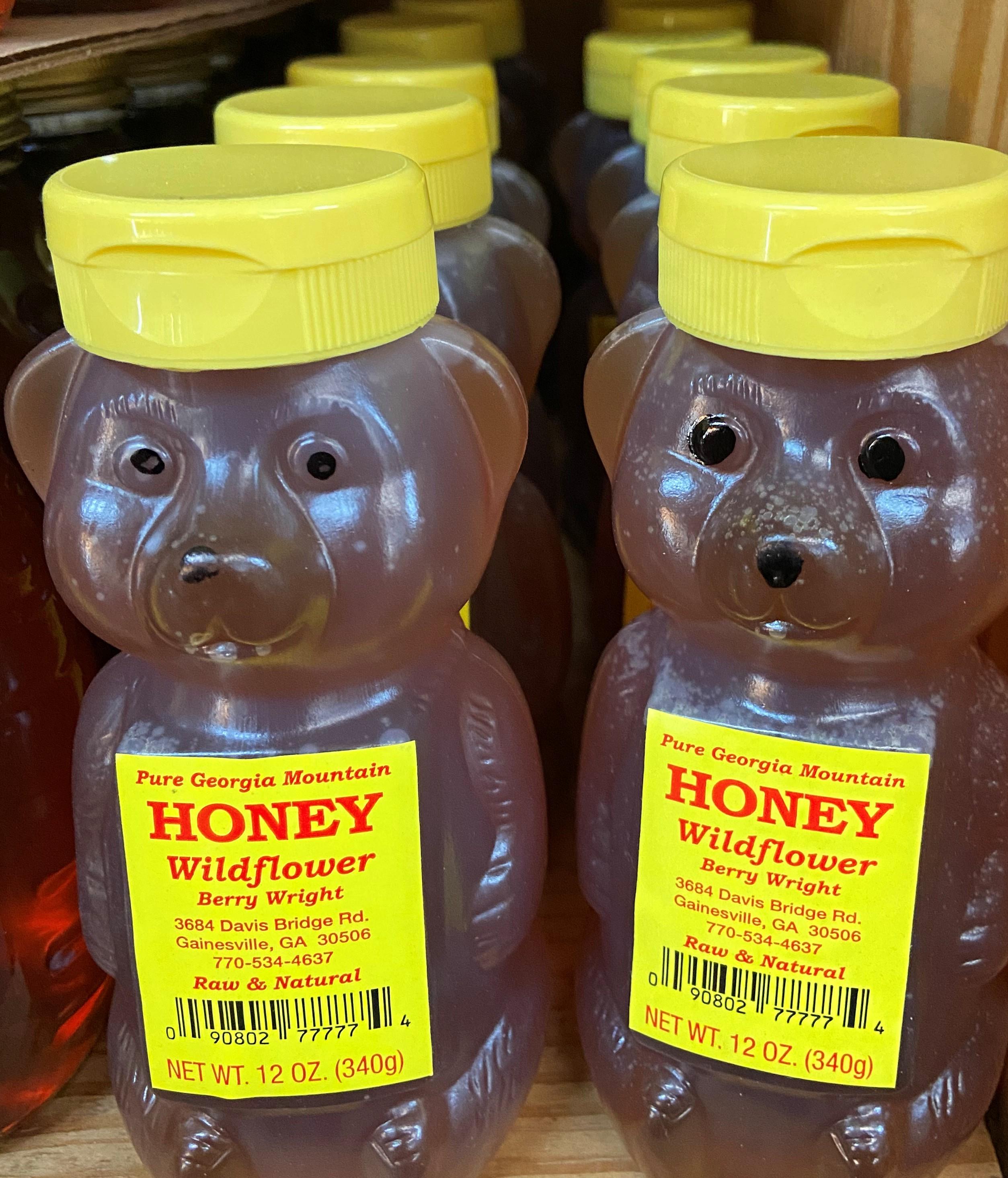 wildflower honey bears
