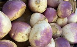 cut turnips