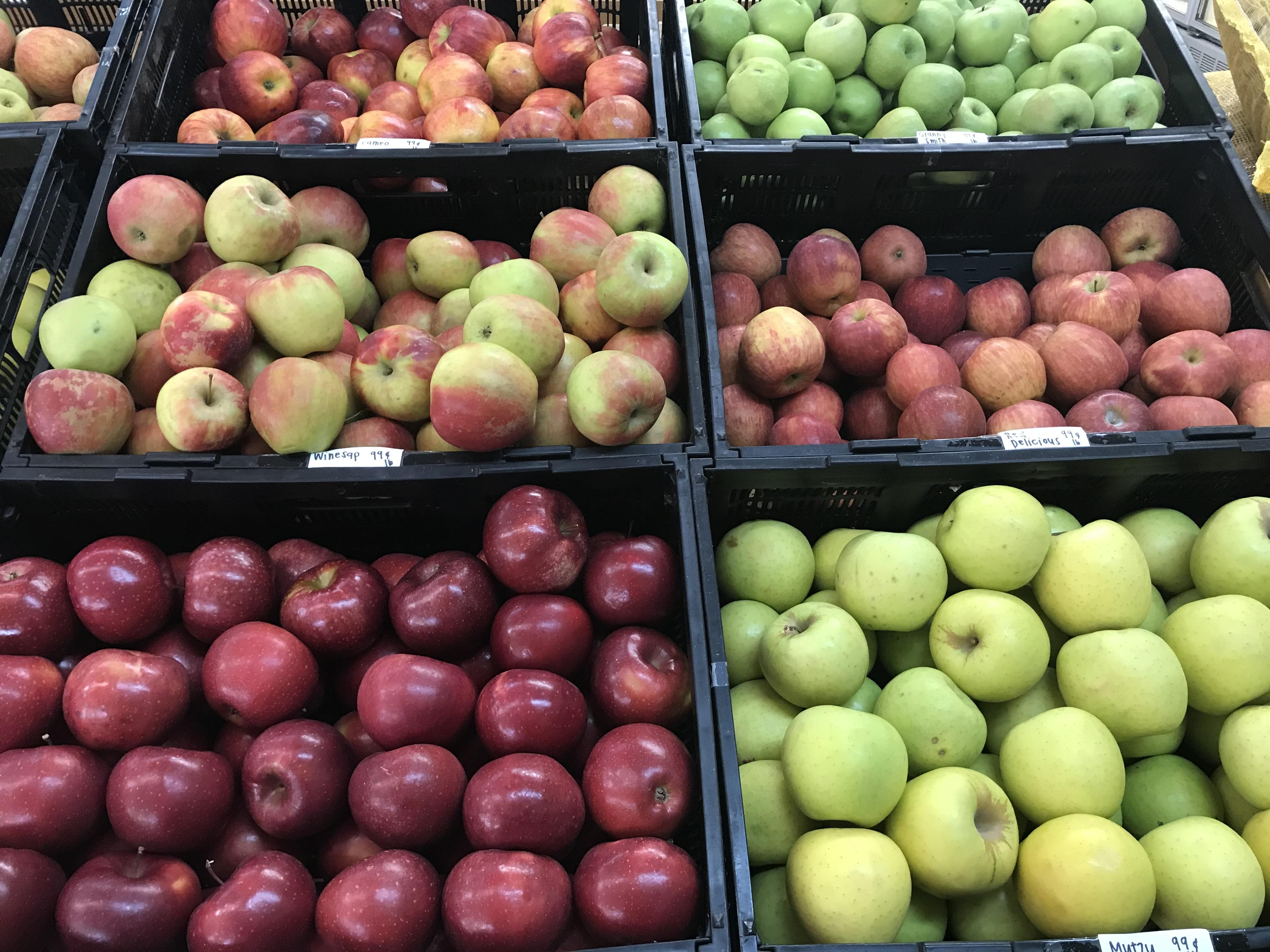 GA Mtn apples