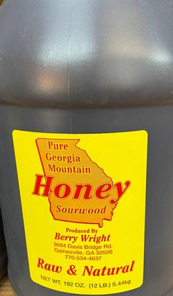 sourwood honey 1gal